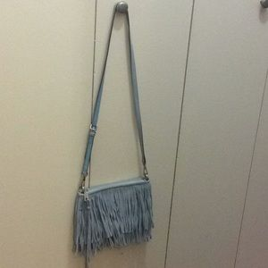 Rebecca Minkoff Fringed Shoulder Bag.